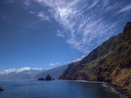 Madeira, Coast, Rock, Sea, Rocky Coast, Water, Atlantic