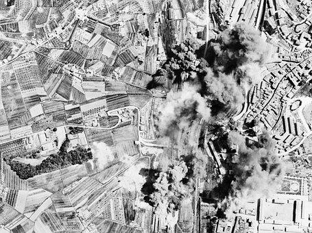 Bombing, Bomb, Destruction, Italy, World War Ii, Wwii