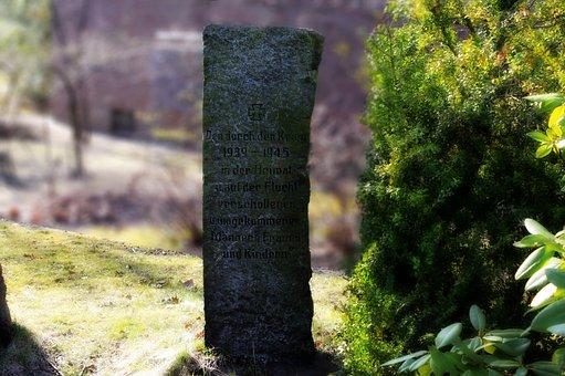 Memorial Stone, World War, Ww2, Wwii, Fallen