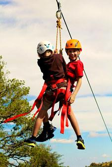 Zip Line, Children, Kids, Climbing, Child, Kid, Active