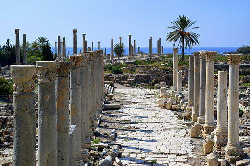 Archaeology, Ancient, Ruins, Excavations, Tyros