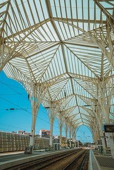 Architecture, Building, Railway Station, Urban