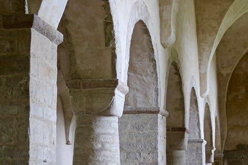Rhaeto Romanic, Church, Monastery, Architecture, Arch
