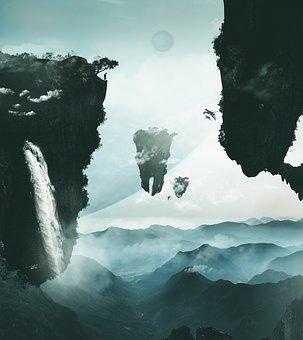 Avatar, Surreal, Manipulation, Mountains, Avatar Movie