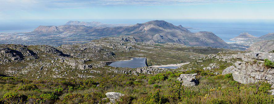 Table Mountain View, Back Table, City, Panorama, View