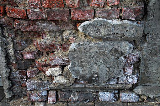 Lake Dusia, Brick, The Walls Of The, Pattern, Walls