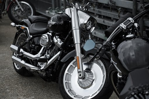 Motorcycle, Harley, Davidson, Harley Davidson, Chrome