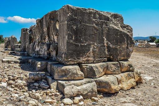 Stones, Wall, Architecture, Archeology, Civilization