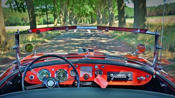 Oldtimer, Mga, Convertible, Sports Car, Classic, Auto