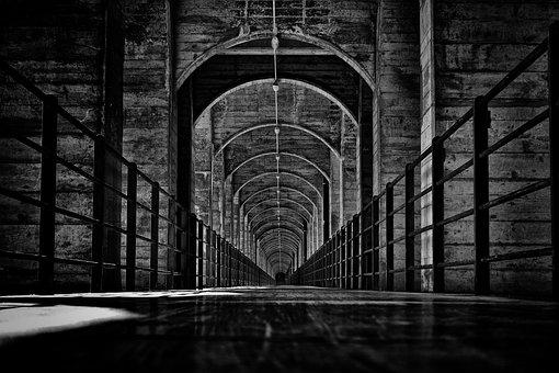 Fribourg, Viaduct, Viaduc, Bnw, Concrete, Railway