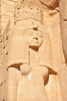 Abu Simbel, Temple, Egypt, Antique, Nile, Aswan
