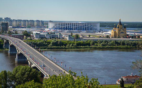 Stadium, Nizhniy Novgorod, Russia, Football Russia