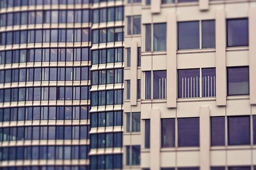 Architecture, Glass, Modern, City, Futuristic, Urban