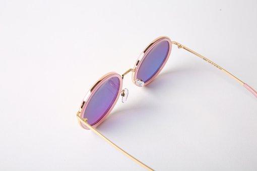 Sunglasses, Pose, White Background, Glasses