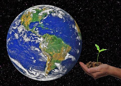 Earth, Globe Hand, Scion, Hope, Globe