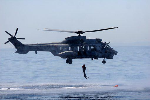 Helicopter, Soldier, Search, Recovery, Marine, Military