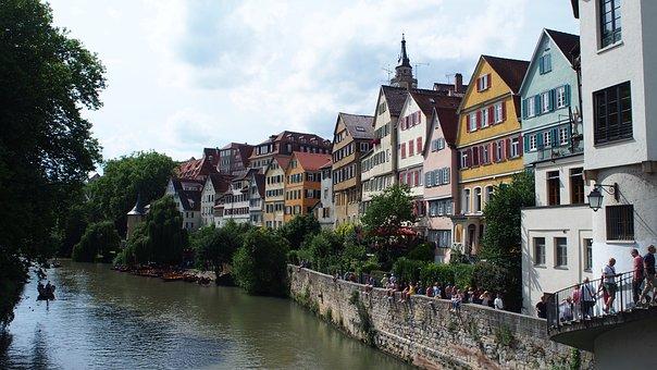 Tübingen, Old Town, Historically, University City