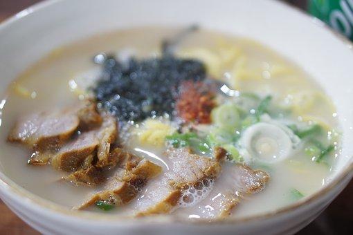 Meat, Jeju Island, Jeju, Meat Noodle, Delicious