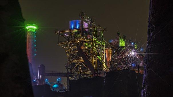 Landscape Park, Industry, Duisburg, Factory