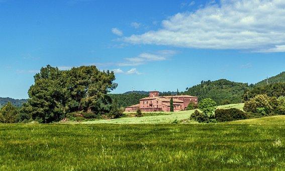 Landscape, Rural, Nature, Field, Clouds, Sky, Farm
