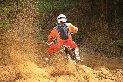 Motocross, Sand, Motorcycle, Motorsport, Race, Cross