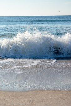 Wave, Ocean, Sea, Water, Nature, Spray, Splash
