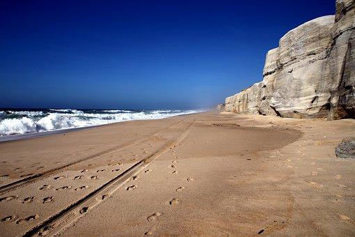 Sea, Sun, Sand, Water, Sunrise, Nature, Ocean, Coast