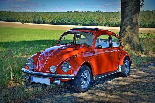 Oldtimer, Vw Beetle, Classic, Vw, Automotive, Old