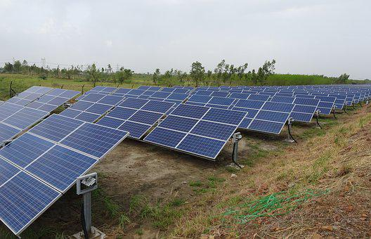 Solar Panels, Renewable Energy, Photo-voltaic
