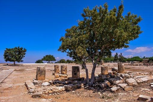 Cyprus, Aphrodite's Sanctuary, Kouklia, Remains