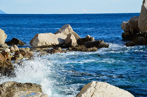 Sea, Marseille, Holiday, Creeks, Rock, Blue, Pier