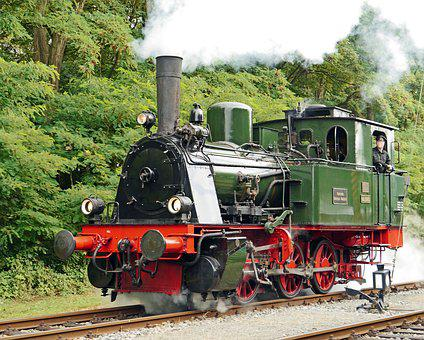 Steam Locomotive, Museum Locomotive, Prussian, T3, T 3