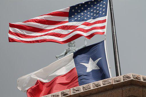 Flag, United States, Texas