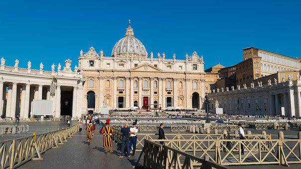 St, Peter's Basilica, Cathedral, Church, Vatican