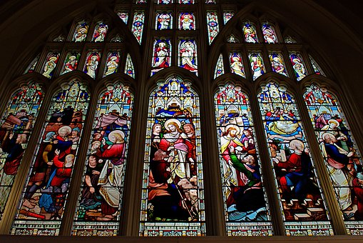 Nottingham Saint Peters Church, Stained Glass, Window