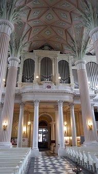 Nicolai Church, Leipzig, Cover Painting, Art, Columnar