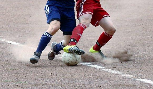 Ash, Football, Duel, Ball, Legs, Amateurs, Use
