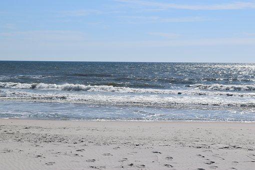 Pawley's Island, Nature, Coastal, Sea, Ocean, Beach