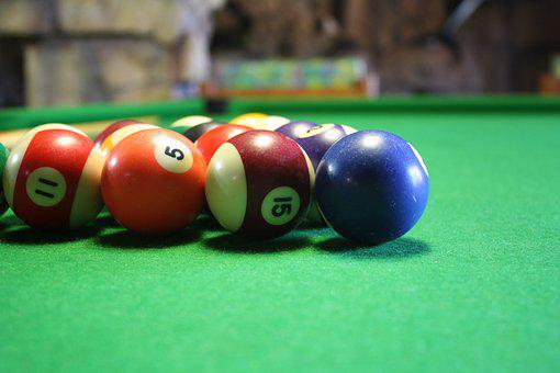Billiards, Pool, Table, Leisure, Green, Skill, Play