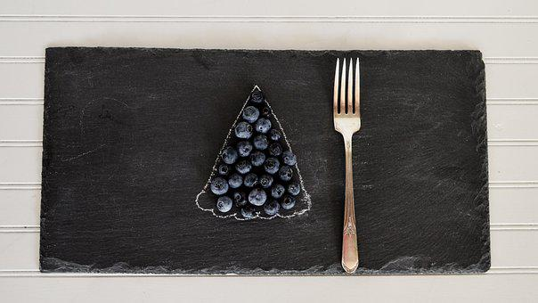 Blueberries, Table, Fruit, Blueberry, Flatlay, Food