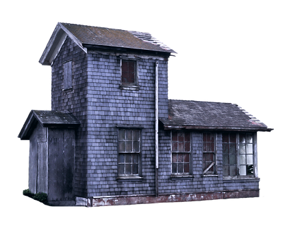 House, Building, Isolated, Old, Woodhouse, Empty