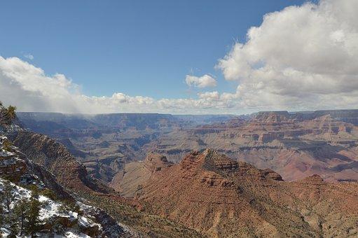 Grand Canyon, Canyon, Usa, Landscape, Scenic, America