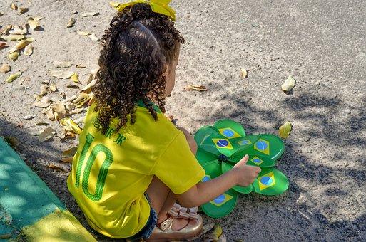 Child, Brazil, Hexa, Copado World, Football
