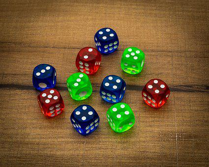 Bet, Betting, Casino, Chance, Color, Colorful, Cube