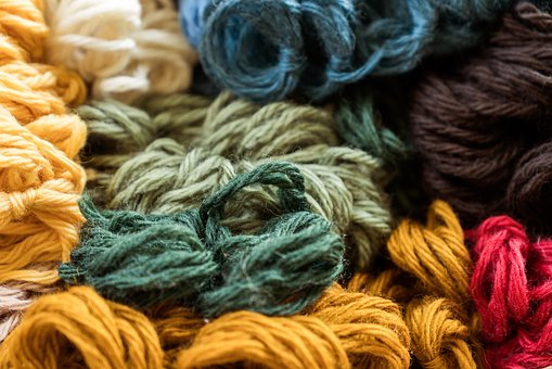 Wool, Thread, Hand Labor, Knit, Yarn, Colorful, Color