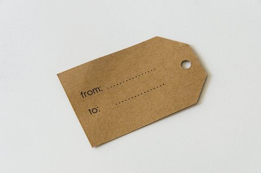 Label, Paper, Kraft, Template, Blank, Empty, Decoration