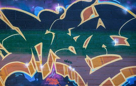 Background, Graffiti, Abstract, Grunge, Street Art