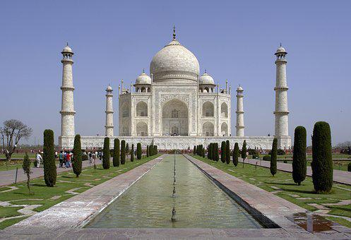 Historical, Monuments, India, Mughals, Taj Mahal
