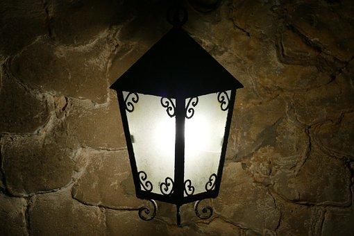 Lamp, Lantern, Old, Dark, Light, Architecture, Antique