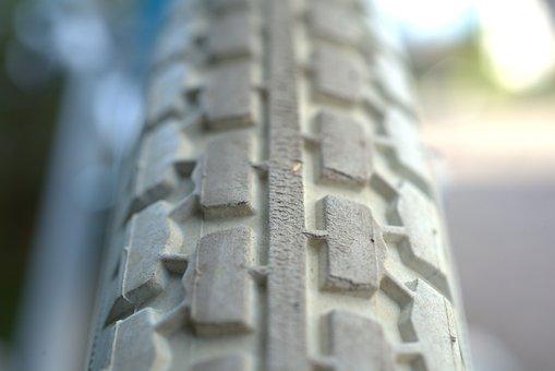Profile, Mature, Wheel, Bike, Rubber, Pattern